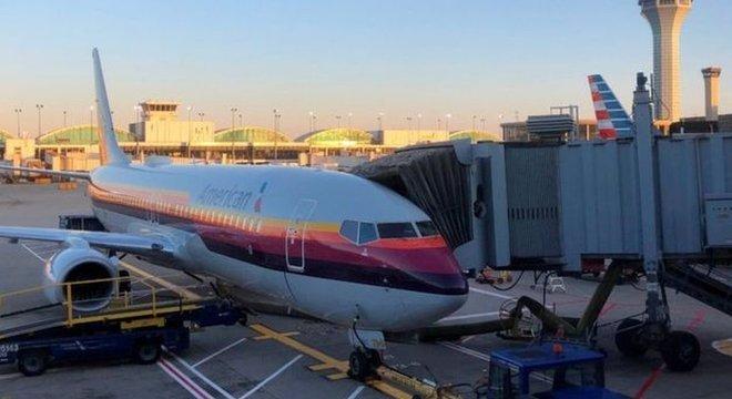 A American Airlines disse que pediu desculpas à passageira e reembolsou o valor da passagem