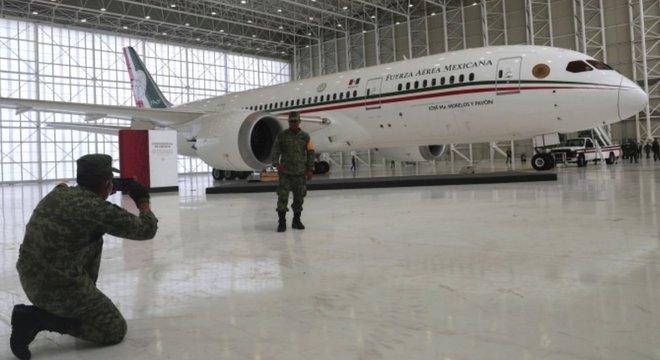 Sorteio não envolveu a aeronave em si, que ainda precisará encontrar um destino