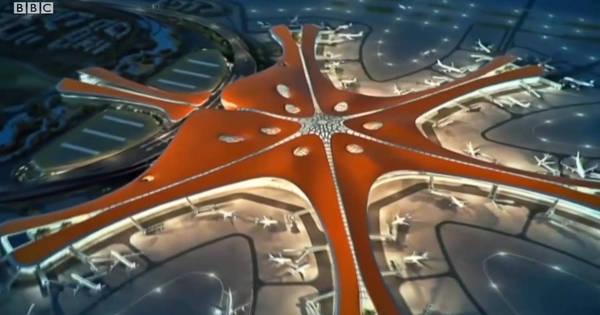 Veja como será o gigantesco aeroporto que a China constrói em Pequim