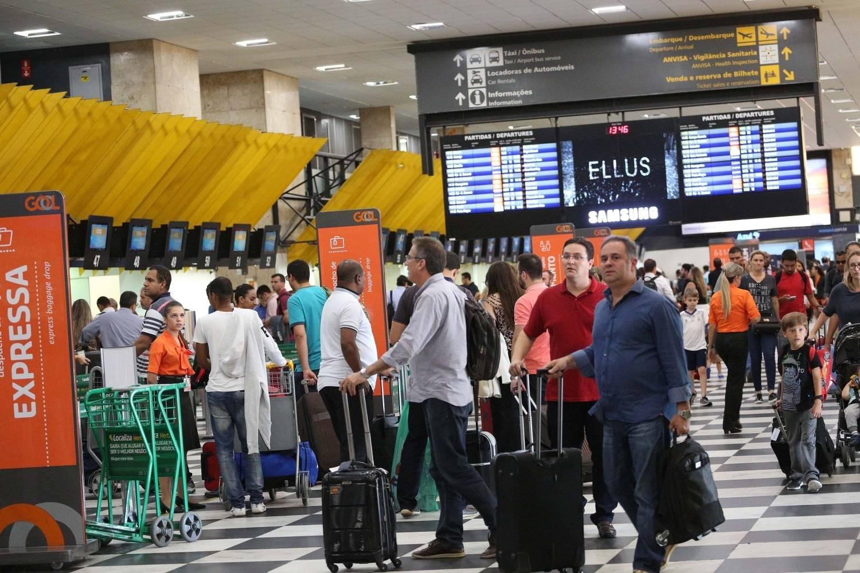 Aeroporto Sp : Aeroportos de sp funcionam normalmente após falha em radar