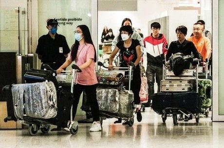 Japão vai deixar chineses e coreanos de quarentena
