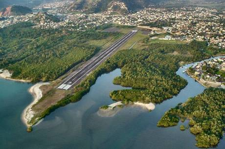 Futura pista do aeroporto de Angra terá 1.180 metros