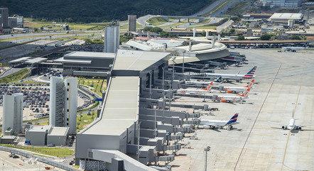 Chegada ocorreu pelo Aeroporto de Confins (MG)