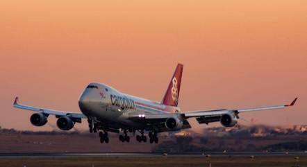 Aeronave deve chegar pelo Aeroporto de Confins