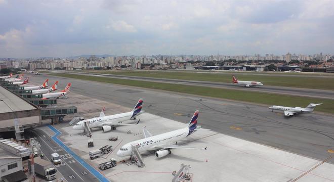 Pista principal do aeroporto de Congonhas será interditada para reformas