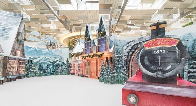 Aeroporto de Singapura tem Natal inspirado em Harry Potter