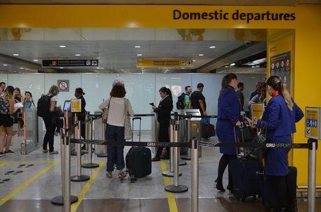 Reservas de voos para o Brasil cresceram em 2018