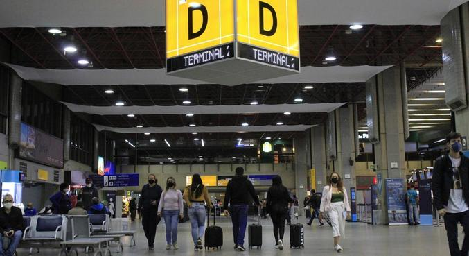 Os serviços turísticos operam 22,8% abaixo do nível pré-covid