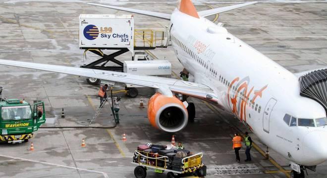 Aeroportos de todo o país sofrem os efeitos da greve dos caminhoneiros