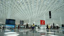 Aeroporto chinês cancela centenas de voos após caso de covid