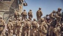Exército dos EUA começa retirada do aeroporto de Cabul
