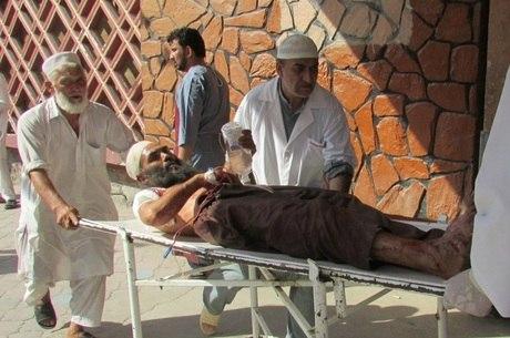 Pelo menos 165 se feriram em explosão em Nangharar