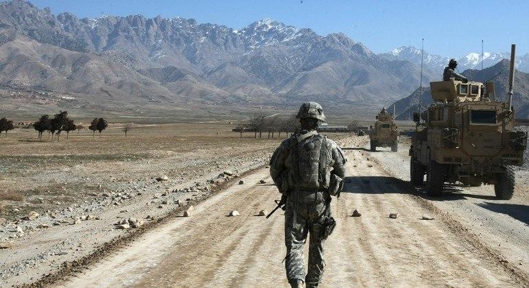 Tropas norte-americanas ocuparam o Afeganistão durante quase 20 anos
