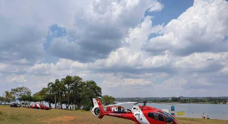 Jovem morreu afogado no Lago Paranoá neste domingo