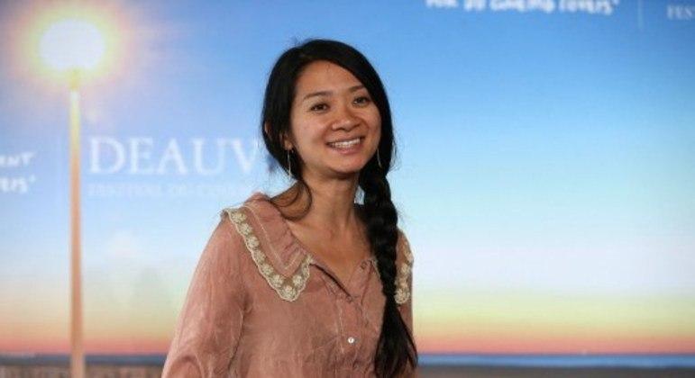 Diretora de Nomadland, Chloe Zhao foi uma das indicadas para o prêmio principal
