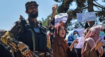 Anuncio ocorre em meio a protestos em Cabul