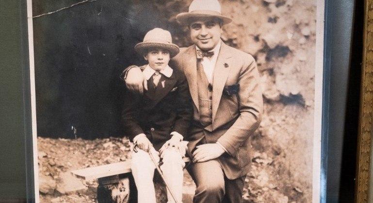 Foto de Al Capone será leiloada