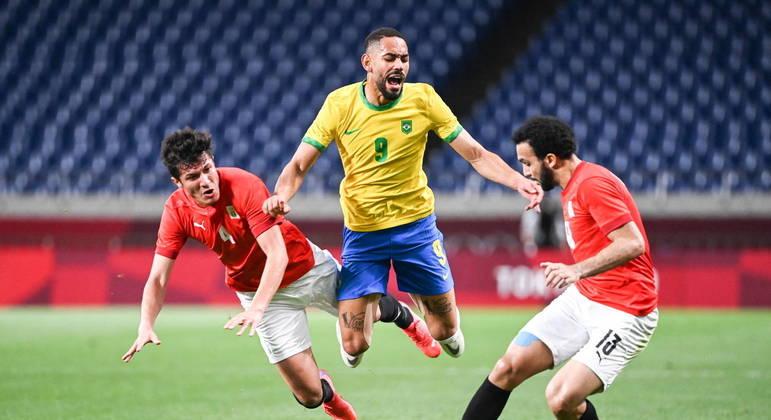 Matheus Cunha foi muito marcado, como todo o time brasileiro. Mostrou personalidade