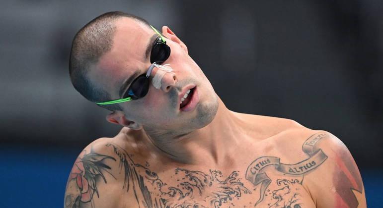 Bruno Fratus é candidato ao pódio nos 50m livre