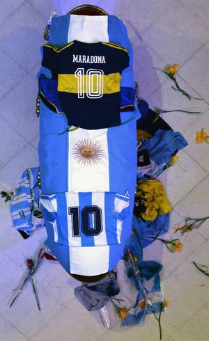 Velório de Maradona ocorre na Casa Rosada, em Buenos Aires