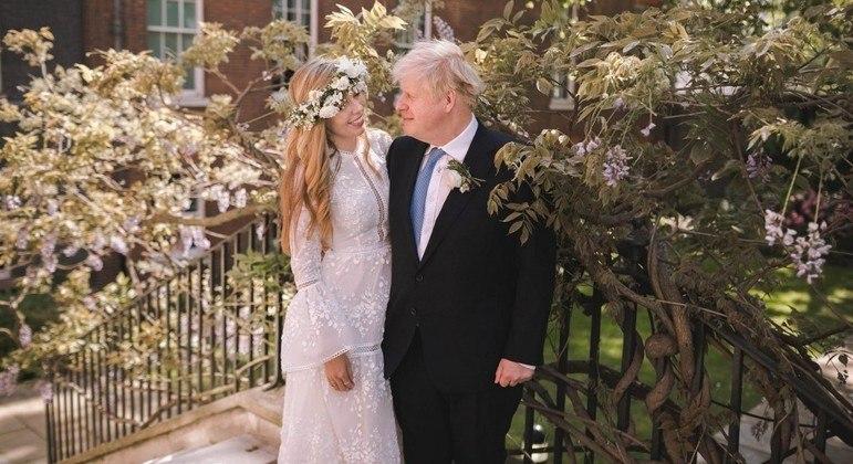 Boris Johnson é o segundo primeiro-ministro britânico que se casa durante o mandato