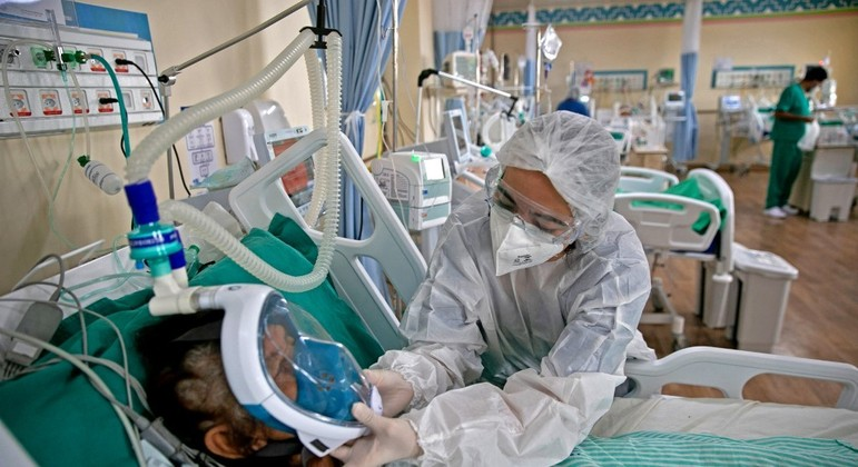 Segundo o Ministério da Saúde, mais de 13 milhões de pessoas já se recuperaram da covid-19 no país