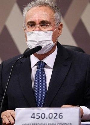 O relator da CPI, Renan Calheiros (MDB-AL)