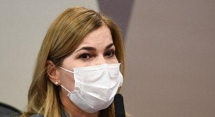 Mayra Pinheiro em depoimento à CPI