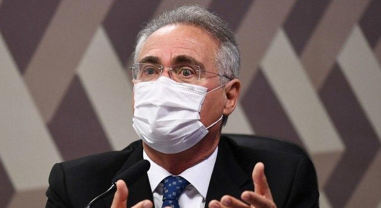 O senador Renan Calheiros implora para que Neymar fique contra a Copa América no Brasil