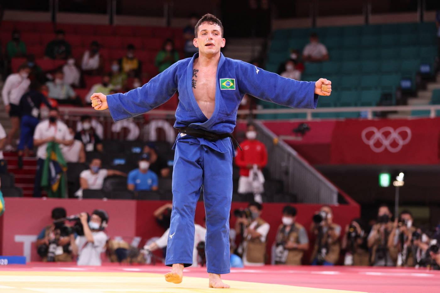 Cargnin venceu o israelense Baruch Shmailov e ganhou o bronze na Olimpíada