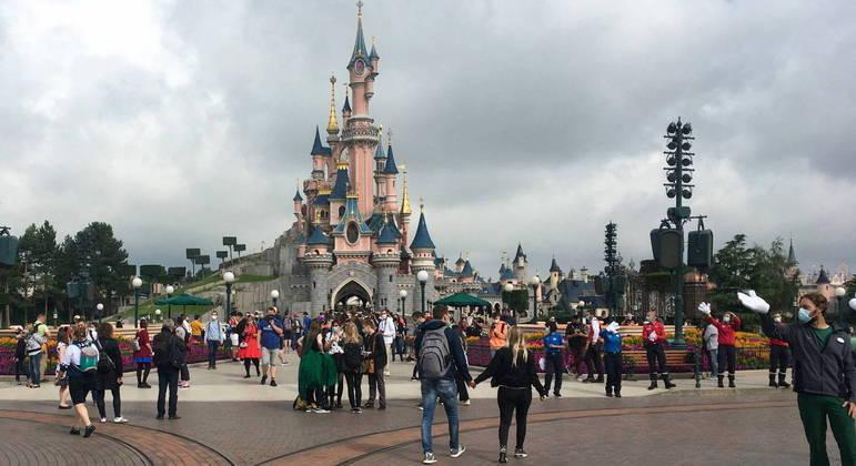 Disney da França promete seguir rígidas regras sanitárias para voltar a receber visitantes