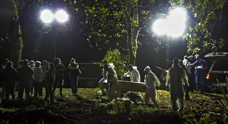 Enterros noturnos estão suspensos a partir desta quinta-feira na cidade de SP