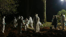 Cidade de SP suspende a realização de enterros noturnos a partir de 5ª