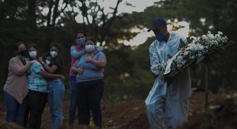 São Paulo bate recorde de mortes nas últimas 24 horas por covid-19