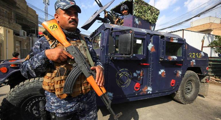 Forças de segurança do Iraque são alvo fácil para células dos terroristas