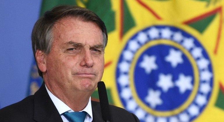 O presidente Jair Bolsonaro, que indicou André Mendonça para o STF