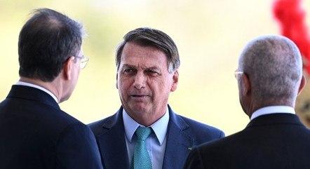 Bolsonaro lamentou o preço atual do botijão de gás