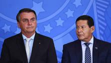 'Nós nunca brigamos', diz Mourão após se reunir com Bolsonaro