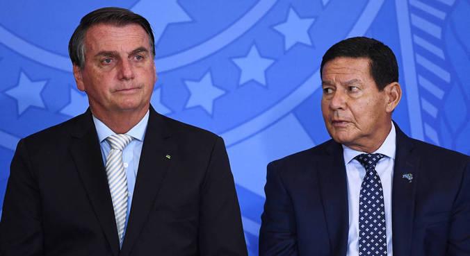 Mourão negou ter tratado com Bolsonaro sobre outros assuntos, como a pandemia e a nova rodada do auxílio emergencial