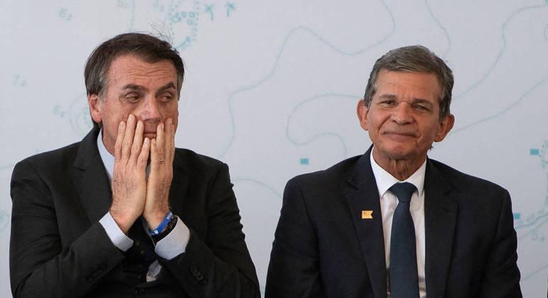 Mercado reagiu mal à indicação por Bolsonaro de Joaquim Silva e Luna para a Petrobras