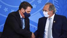 Bolsonaro elogia Guedes e equipe econômica por recuperação