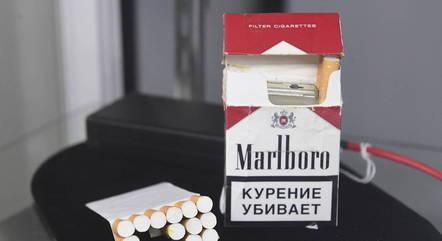 Maço de cigarro com câmera é um dos itens
