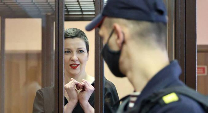 Tribunal avalia que Maria Kolesnikova atentou contra a segurança nacional
