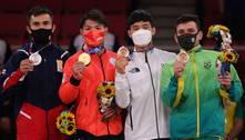 Daniel Cargnin vence israelense e fatura o bronze no judô de Tóquio