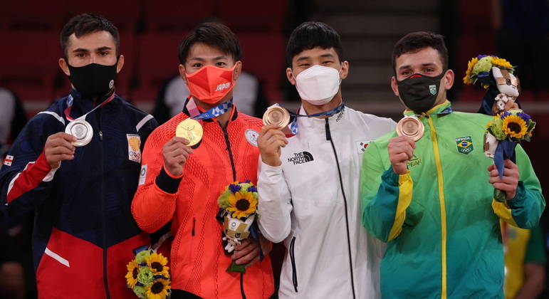 Brasileiro Daniel Cargnin conquistou a medalha de bronze nos Jogos Olímpicos de Tóquio