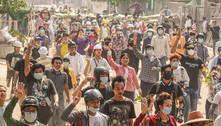 Rebeldes passam a apoiar protestos contra golpe militar em Mianmar