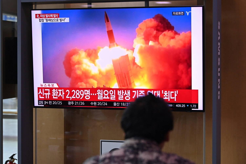 Coreia do Norte lançou um míssil no mar, de acordo com a vizinha Coreia do Sul