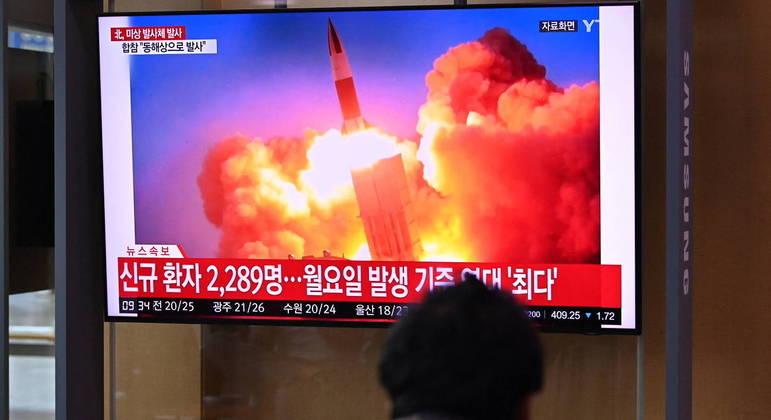 Coreia do Norte tem realizado nas últimas semanas um grande número de exercícios militares