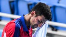 Djokovic desiste de disputar bronze nas duplas e deixa Jogos sem pódio