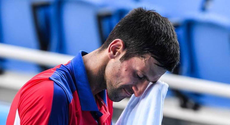 Novak Djokovic está fora dos Jogos Olímpicos de Tóquio 2020